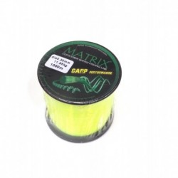 Fir Monofilament Carbotex Matrix Fluo Galben 028MM/10,25KG/1000M