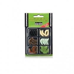 Set naluci maggot worms s1 2cm diverse culori, 24 buc/plic