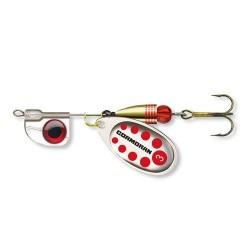 Lingurita Rotativa Cormoran AT Marimea 2, Culoare Silver Red, 4.5G