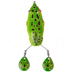 Spinner Naluca Soft Savage Gear 3D Spin Kick Frog 15cm 22g