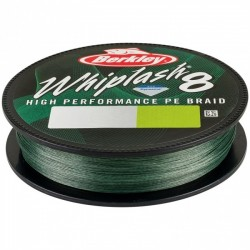 Fir Berkley Textil Whiplash 8 Green, 0.12mm/ 17.5 kg/150m