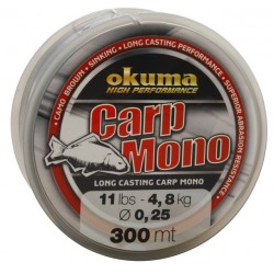 Fir Okuma Carp Mono, 0.35mm/9,2kg/300m