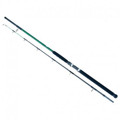Lanseta fibra de carbon Baracuda Corsair Boat 240, 2 tronsoane, 2.4 m