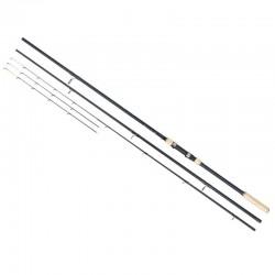 Lanseta fibra de carbon Baracuda Stream Feeder 390 A:160g, 3 tronsoane + 2 varfuri, 3.9 m