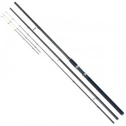 Lanseta fibra de carbon Baracuda Storm Feeder 3903, 3 tronsoane + 2 varfuri, 3.9 m