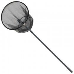 Minciog cu cap circular, cu maner din aluminiu (2 tronsoane): 2m