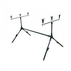Rodpod mic, pentru 3 lansete, lungime 125 cm, husa transport