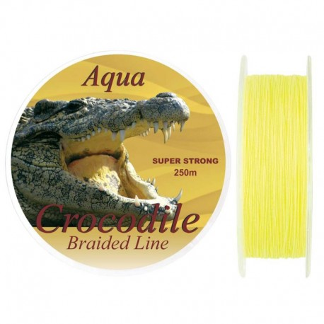 Fir textil Baracuda Aqua Crocodile 250m, 0.40mm/ 39kg
