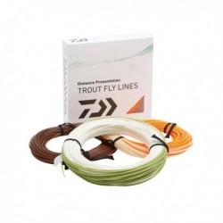 Snur daiwa musca orange fly line/plutit/wf/cls6