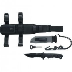 Kit Supravietuire Umarex Elite Force EF 703, Cutit si Accesorii + Lanterna cadou