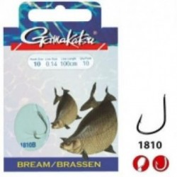 Carlige gamakatsu legate bream feeder 0,12mm 10buc/pl