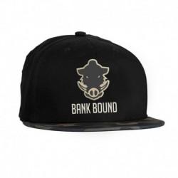 Sapca Prologic Bank Bound Flat Bill Negru/Camo