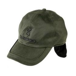 Sapca Browning Verde Cu Urechi Interior Fleece