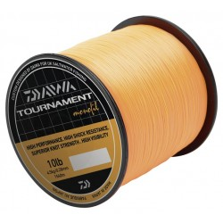 Fir Monofilament Daiwa Tournament, Rezistenta 5.44 kg, 1320 m, 0.31 mm, Portocaliu
