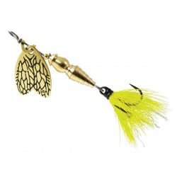 Lingurita Rotativa Mepps Thunder Bug Fly Yellow, Nr 1, 4G