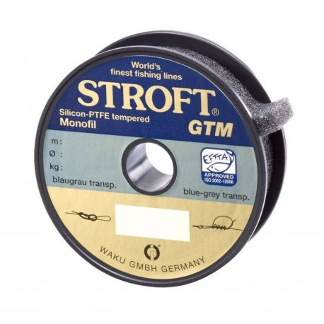 Fir Monofilament Stroft Gtm, Rezistenta 2.6 kg, 100 m, 0.15 mm, Transparent