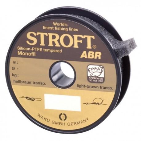 Fir Monofilament Stroft Abr, Rezistenta 1.8 kg, 100 m, 0.12 mm, Maro