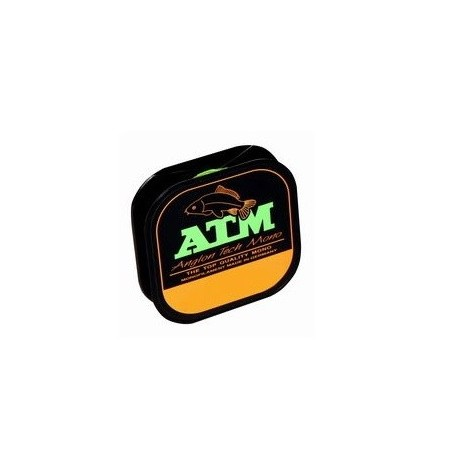 Fir Monofilament Angler Atm, Rezistenta 7.2 kg, 100 m, 0.25 mm, Verde