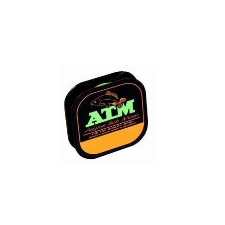 Fir Monofilament Angler Atm, Rezistenta 1.9 kg, 100 m, 0.12 mm, Verde