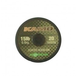 Fir Textil Korda Kamo Coated, Rezistenta 6.8 kg, 20 m, Maro