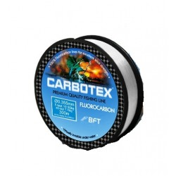 Fir Fluorocarbon Carbotex, Rezistenta 5.5 kg, 30 m, 0.20 mm, Transparent