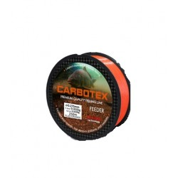 Fir Monofilament Carbotex Feeder, Rezistenta 9.9 kg, 250 m, 0.27 mm, Portocaliu