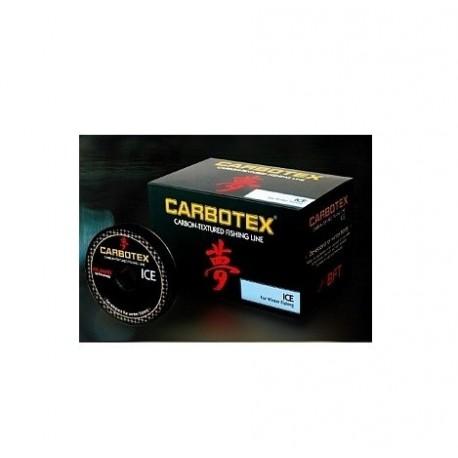 Fir Monofilament Carbotex Filament Ice, Rezistenta 1.7 kg, 30 m, 0.10 mm, Maro