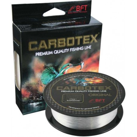 Fir Monofilament Carbotex Original, Rezistenta 20.2 kg, 100 m, 0.40 mm, Transparent