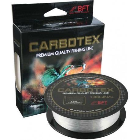 Fir Monofilament Carbotex Original, Rezistenta 12.2 kg, 300 m, 0.30 mm, Transparent