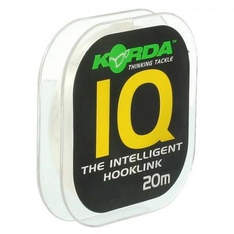 Fir Fluoro Carbon Korda Iq2 Extra Soft, 9 Kg/20 M