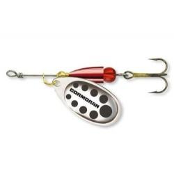 Lingurita Rotativa Cormoran Bullet, Silver-Black, Nr.1, 3G