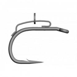 Carllig Mustad BBS Curved Ochi Titan nr 6, 10 buc/plic