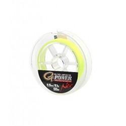 Fir Textil Gamakatsu G-Power Premium Braid Neo, Rezistenta 11.4 kg, 135 m, 0.18 mm, Galben