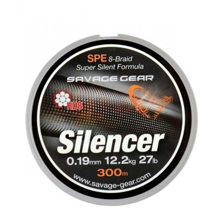 Fir Textil Savage Gear Hd8 Silencer, Rezistenta 4.7 kg, 120 m, 0.09 mm, Verde