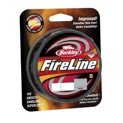 Fir Textil Berkley New 2014 Fireline, Rezistenta 17.5 kg, 110 m, 0.25 mm, Gri