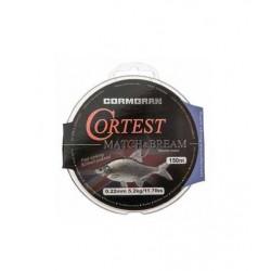 Fir Monofilament Cormoran Cortest Match Bream, 0.16mm/2,9kg/150m