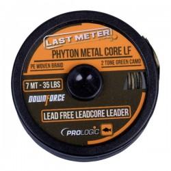 Fir Textil Prologic Phyton Metal Core, Rezistenta 20.41 kg, 7 m, Verde/Maro