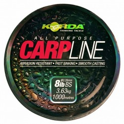 Fir Monofilament Korda Carp Line, 0.28Mm/3.6Kg/1000M