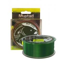 Fir Monofilament Mustad Carp Special, Rezistenta 4.5 kg, 1200 m, 0.26 mm, Verde/Maro