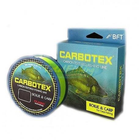 Fir Monofilament Carbotex Boilie&Carp, Rezistenta 14.45 kg, 500 m, 0.33 mm, Fluo/Mat