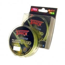 Fir Monofilament Lineaeffe Take Xtreme Fluo, Rezistenta 2.7 kg, 150 m, 0.14 mm, Verde