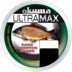 Fir Monofilament Lineaeffe Ultramax Catfish, Rezistenta 19.6 kg, 245 m, 0.50 mm, Maro