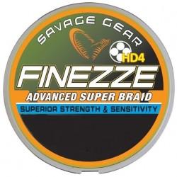 Fir Textil Savage Finesse, Rezistenta 4.5 kg, 120 m, 0.08 mm, Galben