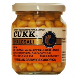 Porumb Natural Dipuit Cukk, Borcan 220 ml Vanilie