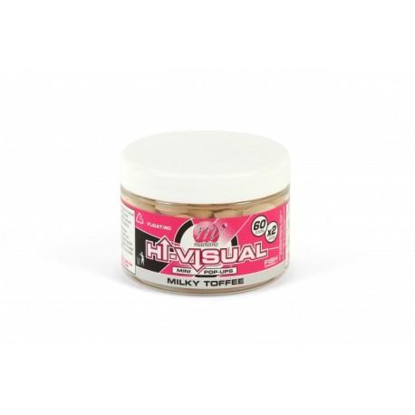 Pop-Ups Mainline Hi-Visual, Milk Toffee, Alb, 10 mm, 50 buc