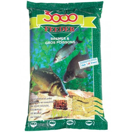 Nada Sensas 3000 Feeder Bream/Big Fish 1Kg