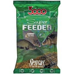 Nada Groundbait Sensas 3000 Super Feeder, 1Kg, Etang Lakes