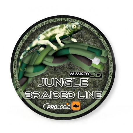 Fir Textil Prologic Mimicry 3D Jungle, Rezistenta 13.6 kg, 400 m, 0.32 mm, Verde/Maro