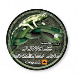 Fir Textil Prologic Mimicry 3D Jungle, Rezistenta 18.14 kg, 400 m, 0.36 mm, Verde/Maro