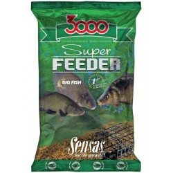 Nada Groundbait Sensas 3000 Super Feeder, 1Kg, Carpes